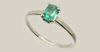 19thC Antique ½ct Colombian Emerald Gem of Ancient Greece Aristotle Plato 4thBC 3