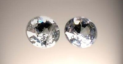 Two19thC Antique 1/3ct Sapphire Medieval Gem Saturn Agriculture Justice Strength 3