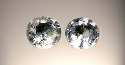 Two19thC Antique 1/3ct Sapphire Medieval Gem Saturn Agriculture Justice Strength 2