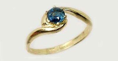 19thC Antique ½ct Sapphire Medieval Ecclesiastical Heaven Gem Pope Innocent III 2