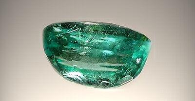 Antique 19thC 2/3ct Emerald 4,000 B.C. Babylonian Gem Market Ancient Egypt Mines 4