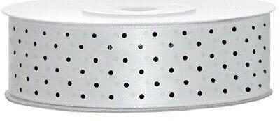 1-5m  Plain & Polka Dot * Cake Decorations Satin Ribbon Various 6~12~25~38~50mm 10