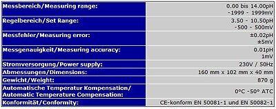 2-Fach Regelgereät (Redox+Ph) Ozon Ozonisator Aquarium Pool Süss-/salzwasser P11 6