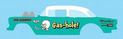 Hot wheels 1//64 Decals  /'55 Chevy Gasser FATLACE 077
