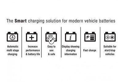 Maypole Optimiser 8A Caravan Leisure Motorhome Electronic Smart Battery Charger 4