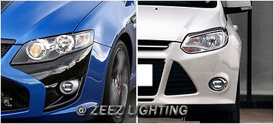 LED Projector Fog Driving Lamp w/ DRL Daytime Running Light For Cars Trucks SUVs 11