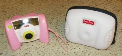 Fisher Price Kid Tough Digital Camera w/ Carry Case - PICK YOUR COLOR !!