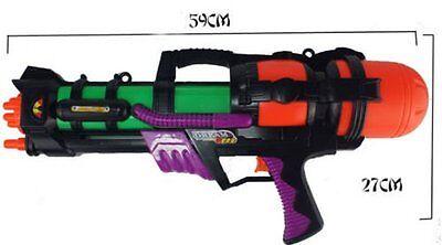 "23"" Giant Water Gun Pump Action 65cm Mega Super Soaker Beach Garden Toy 921 4"
