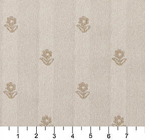 C625 Khaki And Beige Flowers Country Style Upholstery Fabric By The