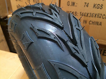 "2 x 145/70 - 6"" inch Front Rear Tyre Tire Kids 110cc Quad Bike ATV Buggy Go kart"