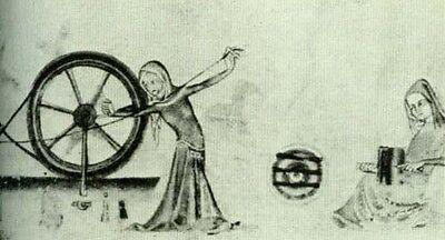 NEW RARE Medieval Womens Life 12-13thC English Flemish Ancient Illuminations Art 2