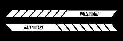 VVTI vvt-i dohc side body stripes decal jdm vinyl car doors bumper set of 2