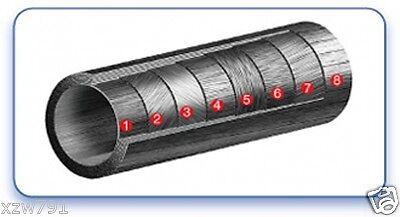 Matte 50mm OD x 47mm ID x 500mm 3K Roll Carbon Fiber Tube Rod Quadcopter 50*47