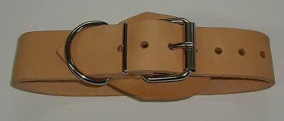 BDSM Taillengurt Lederriemen mit 6 D-Ringen, Klemmschutz 5,0 cm breit + O-Ring