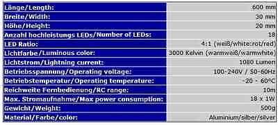 Aquarium Led Beleuchtung Tageslichtsimulator Sonnenuntergang Mond 60Cm Ab4Ww 12