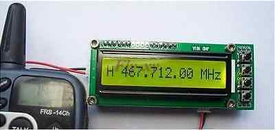 0.1~1100MHz  1.1GHz Frequency Counter Tester Measurement F Ham Radio PLJ-1601-C 2