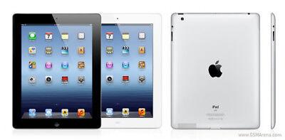 """Apple iPad 3 16GB 32GB 64GB Wi-Fi + Cellular 4G Unlocked 9.7"""" Retina Display 5"""