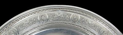 International 1924 Wedgwood Pattern Sterling Silver Low Footed Cake Plate #H86 9