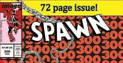 "Image Comics SPAWN #300 ""Amazing Spider-man Variant Cover J Parody NM McFarlane 2"