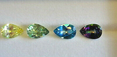 Loose 15x10mm Pear Mystic Topaz ~6 Colors Available!