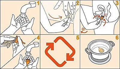 1 x Sileu Menstrual Cup SMALL Soft Reusable Period 100% Medical Grade Silicone