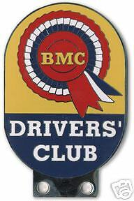 BMC Drivers Club embroidered patch