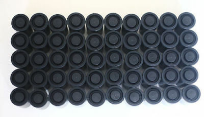 200PCS Empty black bottle 35mm film cans canisters containers 2