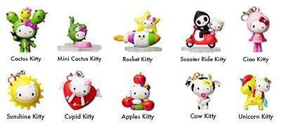 "Tokidoki x 7-11 Sanrio Hello Kitty Pink CIAO KITTY 2.5/"" Vinyl Figure Key Chain"