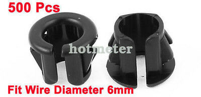H● 500* OSB-10 6mm Wire Hole Dia Cable Harness Protector Snap Bushing 3