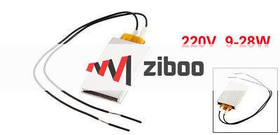 Aluminum PTC Heater Thermostat Heating Plate Constant Temperature 220V200C 2