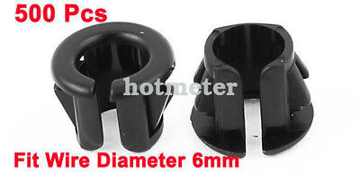 H● 500* OSB-10 6mm Wire Hole Dia Cable Harness Protector Snap Bushing 2