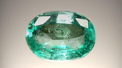 Antique 19thC 2/3ct Emerald 4,000 B.C. Babylonian Gem Market Ancient Egypt Mines 2