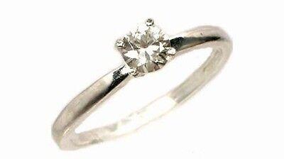 "19thC Antique ½ct Zircon ""Matara Diamond"" Hindu Kalpa Tree Leaf Persian Zargon 2"