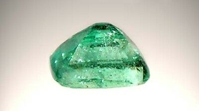 19thC Antique ½ct Siberian Emerald Medieval Chastity Honesty Intelligence Danger 4
