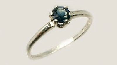 19thC Antique ½ct Sapphire Gemstone of Ancient Greece Cronus God of Agriculture 2