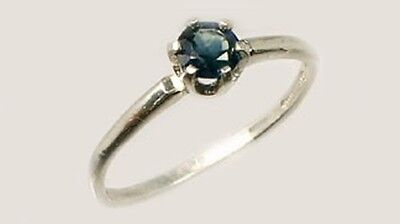 19thC Antique ½ct Sapphire Gemstone of Ancient Greece Cronus God of Agriculture