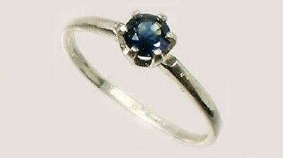 19thC Antique ½ct Sapphire Gemstone of Ancient Greece Cronus God of Agriculture 4