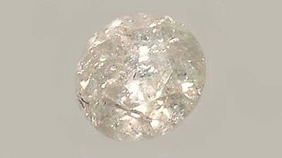 Antique 19thC Handcut ½ct+ Siberian Diamond Medieval Royal Gem Fearless Virtue 3