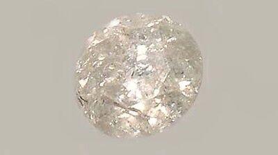 Antique 19thC Handcut ½ct+ Siberian Diamond Medieval Royal Gem Fearless Virtue