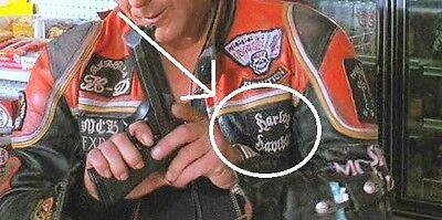 wild hogs movie biker gang leather jacket back patch