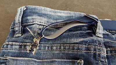 NEU von CLIP.HO  ~  secret belt ~ schwarz, dunkelblau, weiß ~ one size 3