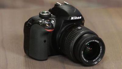 MINT Nikon D5100 16.2 MP Digital SLR Camera With 18-55mm VR Lens (2 LENSES)