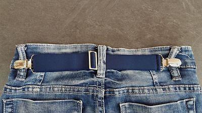 NEU von CLIP.HO  ~  secret belt ~ schwarz, dunkelblau, weiß ~ one size 2