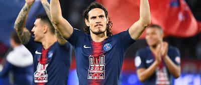QNB Patch Flocage Sponsor PSG Bleu Maillot porté Domicile Mbappé Naymar
