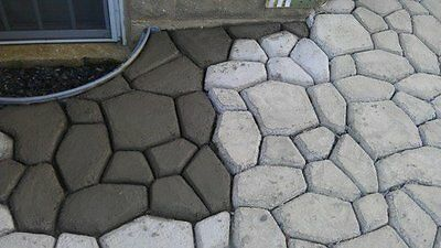 Stone Mold Pathmate Step Pavement Garden Yard Walk Patio Paving Pattern  Concrete 3