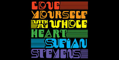 "Sufjan Stevens Love Yourself With My Whole Heart COLOR 7"" VINYL Record non lp!!! 2"