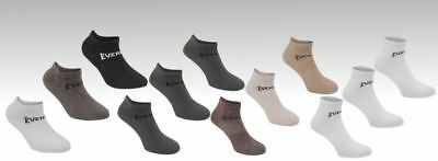 3 Pack Boys Girls Low Cut Ankle Trainer Socks Sizes C8-C13  Junior 1-6 12