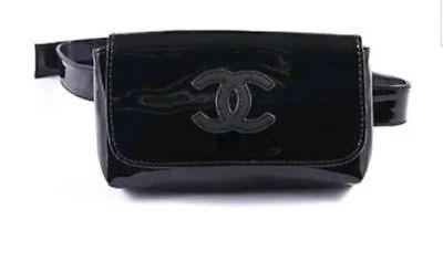 e1e7629b5195 ... CHANEL VIP Belt bag fanny pack clutch Bum Waist Black *NEW* 2