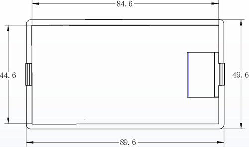 Contador Electrico Digital Medidor de Consumo Voltaje Amperimetro 100A 80-260V 2