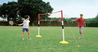 Kids 3 Games In 1 Volleyball Tennis And Badminton Childrens Garden Game Set